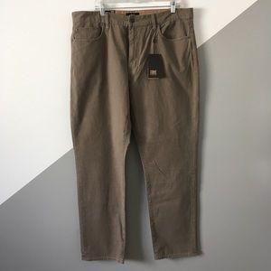 Frye Sz38 Dean Cotton Canvas Jeans Pants